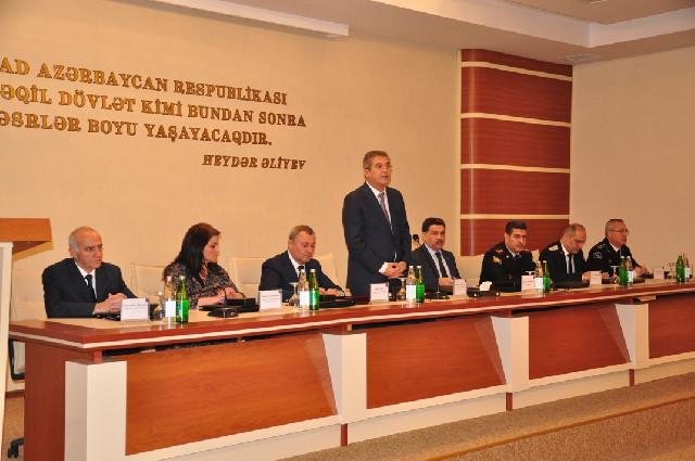 Qaradağ Rayon İcra Hakimiyyətinin 2017-ci ildə rayonun sosial-iqtisadi inkişafının yekunlarına həsr olunan hesabat yığıncağı keçirildi
