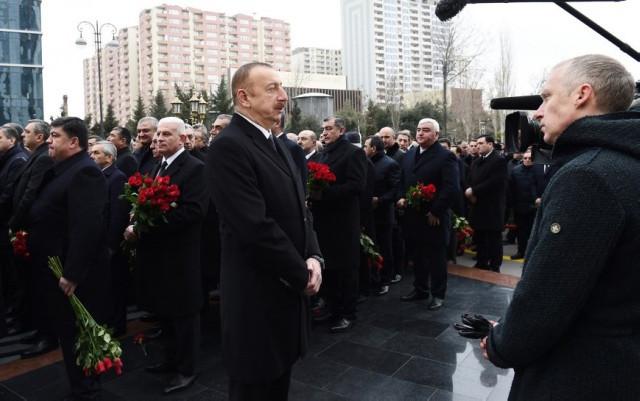 """""""Matəm gününü dərd, kədər hissi ilə qarşıladım"""" - Prezident"""