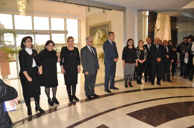 """""""Ölkəmizi tanıyaq"""" layihəsinin tur-aksiya iştirakçıları Bakı – Naxçıvan marşrutu istiqamətində yola salındılar"""
