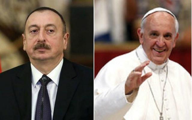 İlham Əliyev Roma Papasını təbrik etdi