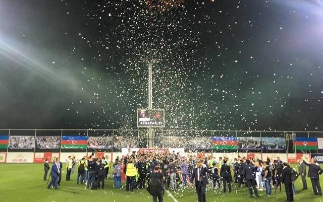 """""""Qarabağ"""" kuboka qovuşdu"""