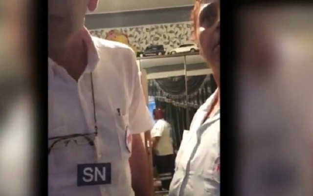 Bakıda həkim xəstəni döymək istəyib - İddia+ Video