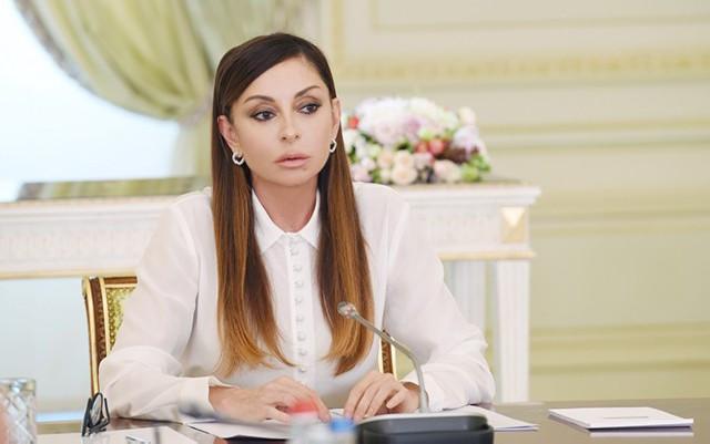"""""""Biz İnterpolun dəstəyinə çox bel bağlayırıq"""" - Mehriban Əliyeva"""
