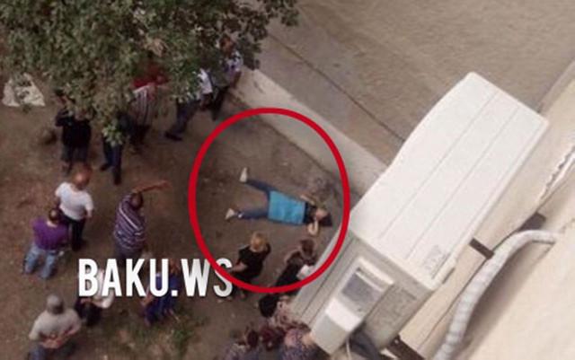 İmtahanda aşağı bal toplayan qız özünü binadan ataraq öldürdü - Foto