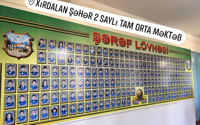 """""""Şərəf lövhəsinə şəkli 20 manata vururlar"""" - Valideyndən iddia"""