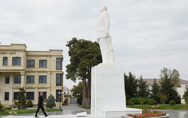 İlham Əliyev Biləsuvarda