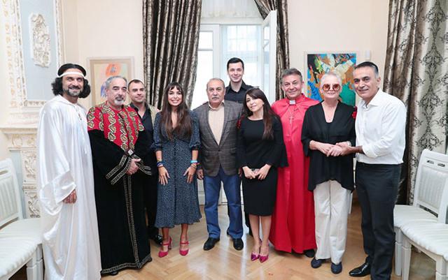 Leyla Əliyeva tamaşa premyerasında - Fotolar