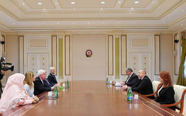 Əliyev Antidopinq Agentliyinin prezidenti ilə görüşüb