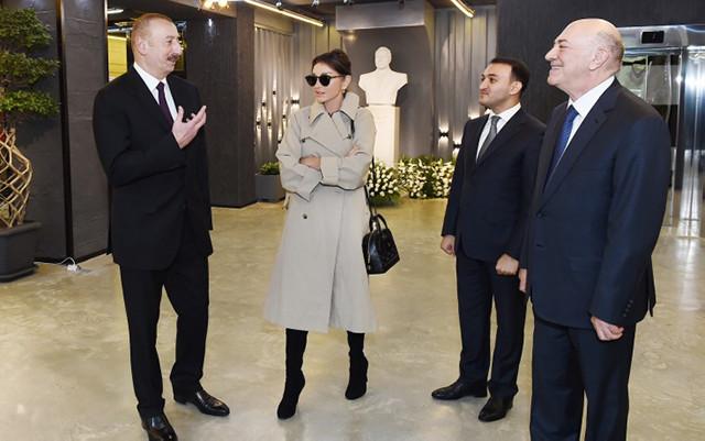 Prezident Elektron Hökumətin İnkişafı Mərkəzinin açılışında - Fotolar