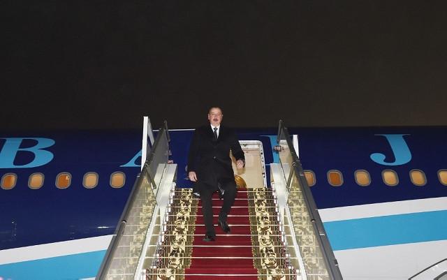 İlham Əliyev Belarusda səfərdədir - Fotolar