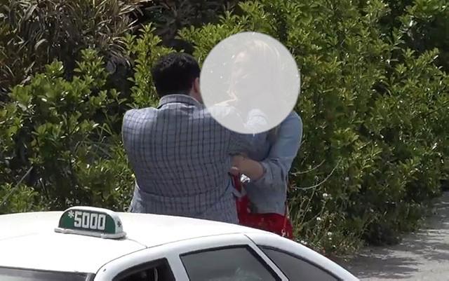 Bakıda kişi qadını küçənin ortasında döydü - Video