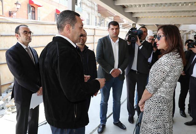 """""""Bir daşa da ziyan dəyməməlidir"""" - Mehriban Əliyeva"""