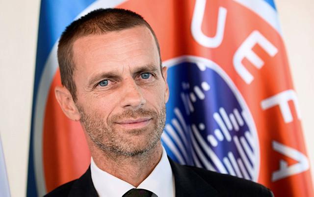 UEFA prezidenti Bakıdakı finaldan danışdı