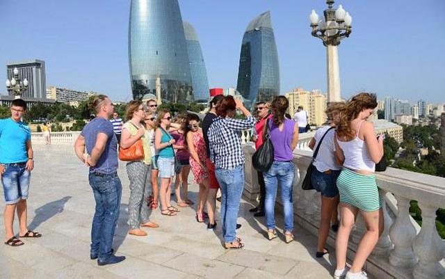 Azərbaycana 1 milyona yaxın turist gəlib