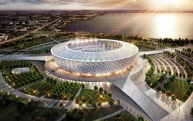 Bakı Olimpiya Stadionu UEFA tərəfindən mükafatlandırıldı