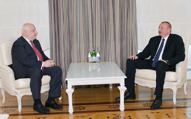 Prezident Tseretelini qəbul edib - Foto