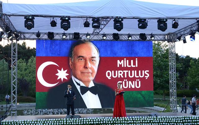 """""""Milli Qurtuluş Günü""""nə özəl konsert keçirilib"""