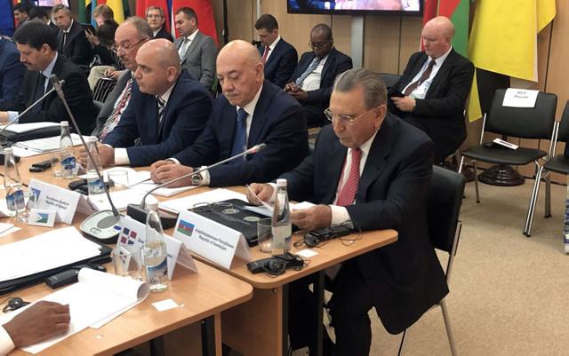 Ramiz Mehdiyev beynəlxalq görüşdə