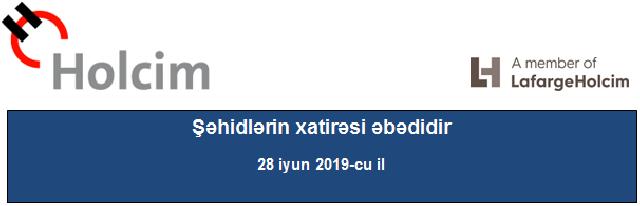 Şəhidlərin xatirəsi əbədidir