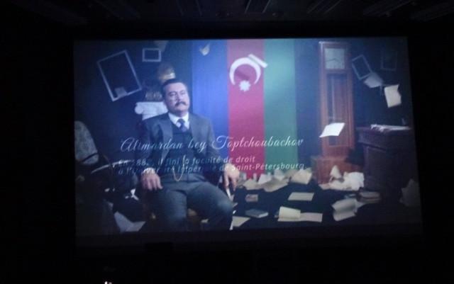 Arzu Əliyevanın filmi Avropa Şurasında nümayiş etdirildi - Fotolar