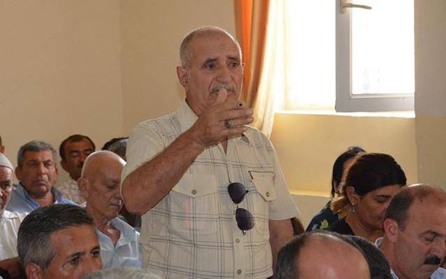 Süleyman Mikayılov Sanqaçalda səyyar qəbul keçirdi