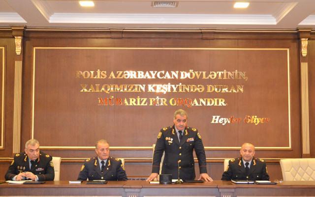 Mirqafar Seyidov geniş müşavirə keçirdi - Foto