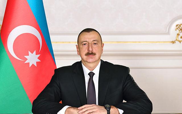 İlham Əliyevdən təbrik