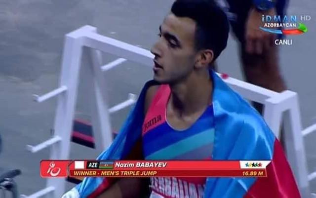 Azərbaycan atletindən qızıl medal