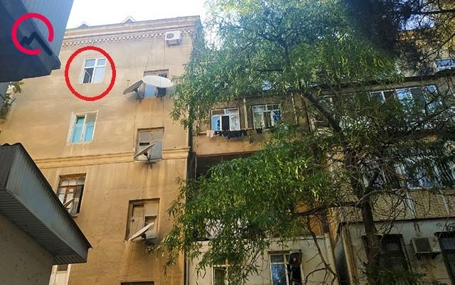 Polis rəisinin oğlu bu binadan yıxılıb ölüb... - Foto