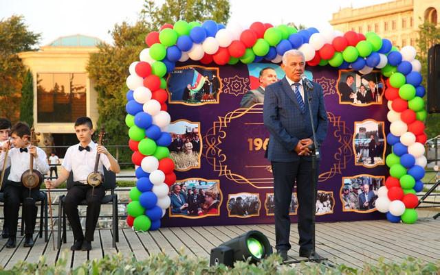 Binəqədidə konsert proqramı keçirilib - Foto