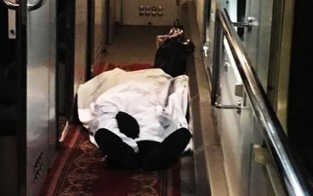 Böyük Kəsik qatarında ölüm