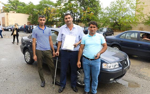 Qarabağ əlillərinə 50 maşın verildi - Fotolar